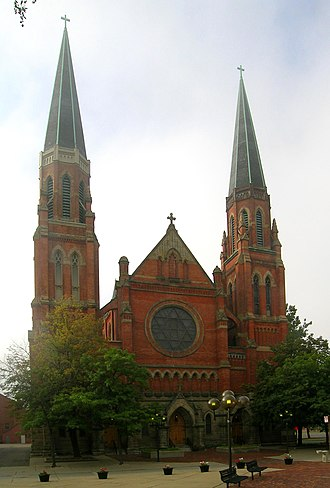History of Detroit - Ste. Anne de Détroit, founded in 1701 is the second-oldest continuously operating Roman Catholic parish in the United States. The present Gothic Revival-styled church was completed in 1887. Today its parish is largely ethnic Hispanic.