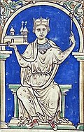 13th-century manuscript depiction of Stephen
