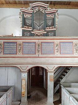 Sternhagen (Nordwestuckermark), Dorfkirche, Orgel (13).jpg
