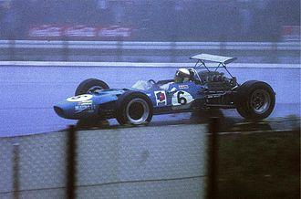 1968 German Grand Prix - Winner Jackie Stewart in a Matra MS10