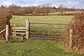 Stile beside Braunston Fields Farm - geograph.org.uk - 1639653.jpg