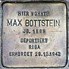 Stolperstein.Alt-Hohenschönhausen.Große-Leege-Straße 48.Max Bottstein.6208.jpg