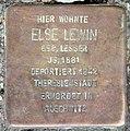 Stolperstein Aschaffenburger Str 6a (Wilmd) Else Lewin.jpg