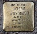 Stolperstein Große Hamburger Str 16 (Mitte) Herbert Budzislawski.jpg