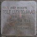 Stolperstein Karlsruhe Maas Rolf Ludwig.jpeg