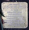 Stolperstein Onkel-Bräsig-Str 111 (Britz) Hans-Georg Vötter.jpg