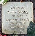 Stolperstein Storkwinkel 8 (Halsee) Adolf Moses.jpg