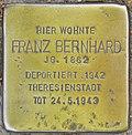 Stolperstein für Franz Bernhard (Potsdam).jpg