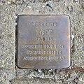 Stolperstein für Josef Kling, Neckartalstrasse 145, Bad Cannstatt, Stuttgart (1).JPG