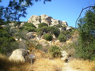 Stoney Point (California) - Image: Stoney Point Outcroppings