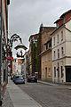 Stralsund, Tribseer Straße, Abzweig Kiebenhieberstraße (2012-05-12), by Klugschnacker in Wikipedia.jpg