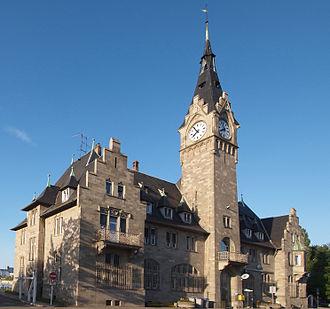 Independent Port of Strasbourg - Image: Strasbourg Port Poste