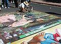 Street artist in San Luis Obispo, California.jpg