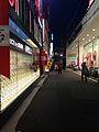 Street view near Kokura Station at night 20150509.jpg