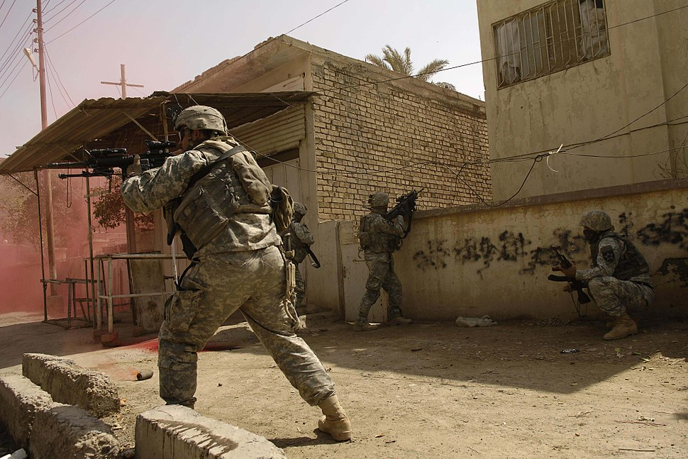 Stryker Battalion rolls into Baqubah DVIDS38283