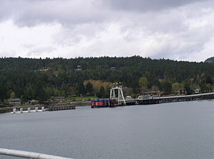 Galiano Island - Sturdies Bay, the BC Ferries terminal