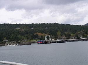 Galiano Island - Sturdies Bay, the BC Ferries terminal