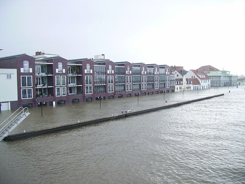 File:Sturmflut in Bremerhaven An der Geeste.jpg