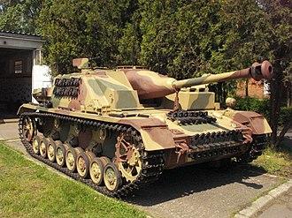 Sturmgeschütz IV - Image: Sturmgeschutz iv Muzeum Broni Pancernej CSWL 2