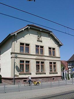 Stutensee Blankenloch Altes Schulhaus 20070521