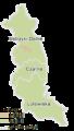 Subcarpathian Voivodeship - bieszczadzki county gminas.png
