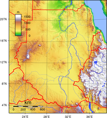 Sudan-Geografi-Fil:Sudan Topography