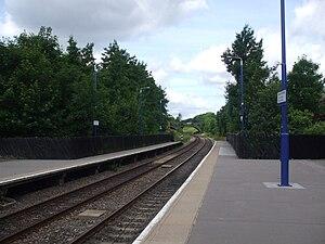 Sudbury Hill Harrow railway station - Image: Sudbury Hill Harrow stn westbound
