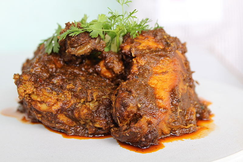 File:Sukka Chicken in Kala Masala.JPG