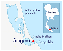 The Sultanate of Singora was a heavily fortified port city in the deep south of Thailand.