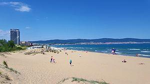 Sunny Beach - Image: Sunny Beach sea