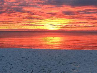 Cotuit, Massachusetts - Sunrise at Loop's Beach