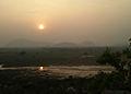 Sunset at Boni Village Anandapuram Visakhapatnam District.jpg