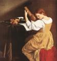 Suonatrice di liuto by Orazio Gentileschi, circa 1626.png