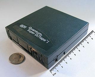 Digital Linear Tape Magnetic tape-based data storage technology