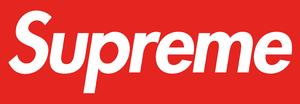 Supreme (brand) - Image: Supreme logo newyork