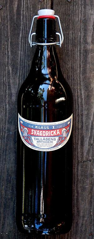 Svagdricka - A bottle of Svagdricka