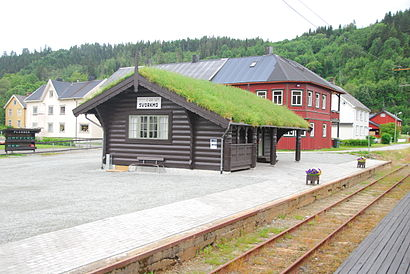 How to get to Svorkmo with public transit - About the place