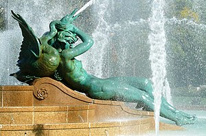 Swann Memorial Fountain - Image: Swann Fountain 27527 3