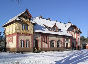 Świętoszów - The railway station