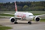 """Swiss International Air Lines Boeing 777-3DE-ER HB-JNA """"Faces of Swiss"""" livery (26691160185).jpg"""