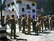 Swiss border 1945