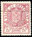Switzerland Delémont 1904 revenue 20c - 3.jpg