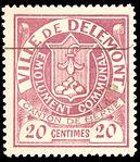 Switzerland Delémont 1904 revenue 20c - 3.jpg