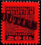 Switzerland Moutier 1945 revenue 2 20c - 9.jpg