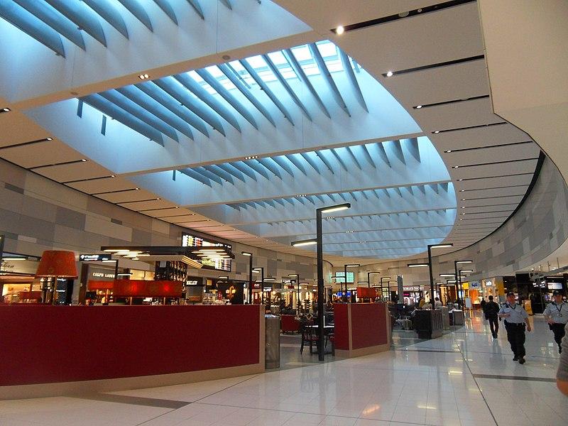 File:Sydney Airport Terminal One Airside.JPG