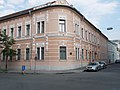 Székesfehérvár Post Office No. 1 (GPO). Petőfi street side. - 16, Kossuth St., Downtown, Székesfehérvár, Fejér County, Hungary.JPG