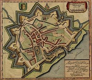 Siege of Tönning - Image: Tönning 1651