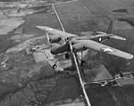 TDN-1 drone on first (piloted) flight near Traverse City, Michigan (USA), on 19 May 1943.jpg