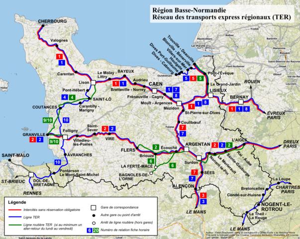File ter basse normandie carte du r wikimedia commons - Chambre des notaires de basse normandie ...