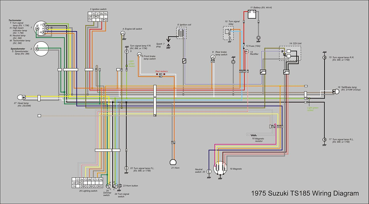 1280px TS185_Wiring_Diagram_new suzuki x3 wiring diagram suzuki wiring diagrams collection suzuki f6a wiring diagram at virtualis.co